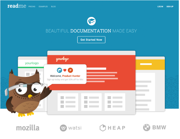 Product Hunt Landing Page