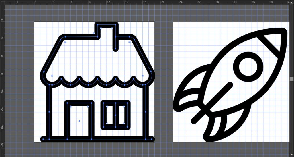 big house and blastoff